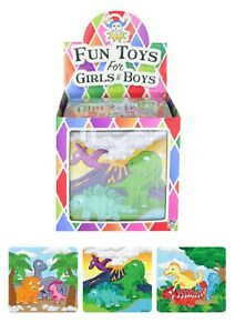 Dinosaur 25 Piece Mini Jigsaw Puzzle Party Bag Fillers Toys Favours Gift