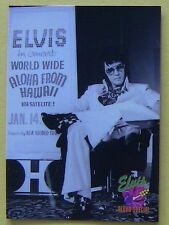 ELVIS  1992 THE ELVIS COLLECTION, ALOHA SPECIAL #457 CARD, 1972 ANNOUNCEMENT