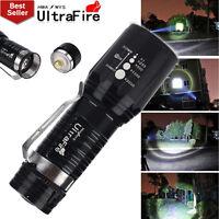 Ultrafire 3000LM 3-Modes CREE XM-L T6 LED Flashlight Super Bright Torch Light UK