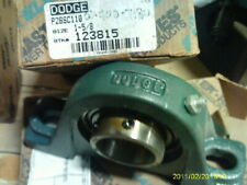 Dodge Flange Bearing P2BSC110 Size 1-5/8 Stock Number 123815