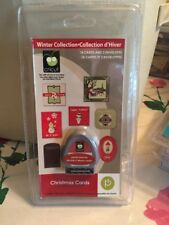NEW!! Cricut cartridge Christmas Cards! ORIGINAL w/keypad - RARE!  #2000535