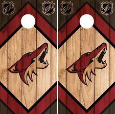 Arizona Coyote Cornhole Wrap NHL Game Board Skin Set Vinyl Decal CO178
