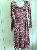 BODEN WRAP WOMEN'S DRESS SIZE ~6H US  UK 10R   D  36R   F  38H ~