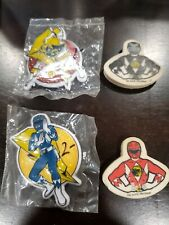 Power rangers Figure Pin Eraser lot