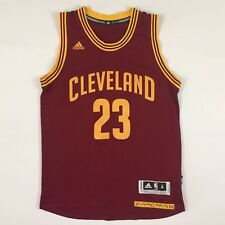 Cleveland Cavaliers LeBron James #23 Navy RED Swingman Jersey