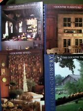 4 Time Life American Country Hardcovers ~ Style, Traveler, Furniture & Kitchen