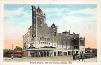 Postcard Riviera Theatre at 20th & Farnam in Omaha, Nebraska~108600