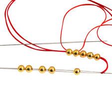 Perlnadeln String Pins Threading Halskette Stickgarn Werkzeuge C1D9 Nadel Z4O6