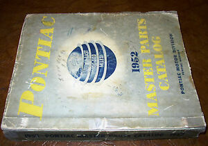 1936-50 48 1949 1951 Pontiac Chassis & Body Master Parts Catalog Orig All Models