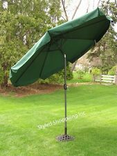 9-Foot Outdoor Patio Deck Market Umbrella