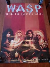 Wasp Inside The Electric Circus Promo Poster