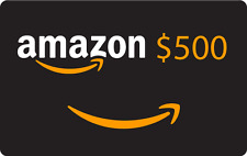 $500.00 Amazon.com Gift Card! Brand New- Contains full value - Never Expires!