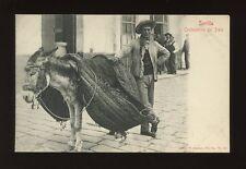 Spain SEVILLE SEVILLA Costumbres del Pais c1910/20s? PPC