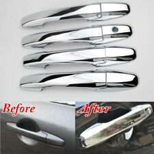 Accessories Chrome Side Door Handle Covers Trims For 2009-2015 Honda Pilot