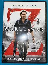 World War Z. Movie by Marc Forster Used DVD Brad Pitt