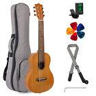 Kmise Guitalele Guitarlele Guitar Ukulele 31 inch Mahogany With Bag Picks Strap