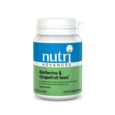 Nutri Advanced Berberine & Grapefruit Seed Formula 60 Capsules