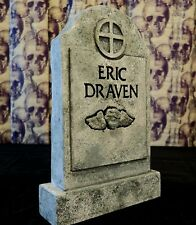 THE CROW Eric Draven Mini Tombstone for Display Case Halloween Judith Myers