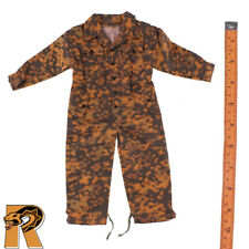 TC - German Burnt Autumn Camo Coverall - 1/6 Scale - Toys City Action Figures