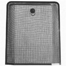 Large Black Spark Guard Fire Guard Screen Fine Mesh Safety Protective #1BW708B