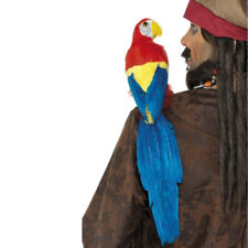 """Parrot With Elastic Strap Pirate Macaw 20"""" Bird Costume Shoulder Prop"""