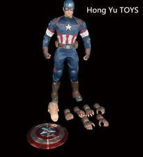 Hong Yu TOYS Captain America Steven Rogers 1/6 Soldier Figure Model Toy Collecte