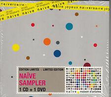 CD ALBUM + DVD NAIVE SAMPLER / LIMITED EDITION POUR LES DIX ANS / NEUF, SCELLE