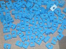 LEGO Technic 15 X Blu Mattone - 1 x 2 pin a lungo con 1 x foro asse