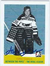 Gilles Gratton Signed 09/10 Between The Pipes Card