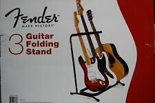 Fender Folding 3 Guitar Rack, for Display, Studio or Stage, MPN 0991808003