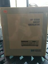 HP 8350B Sweep Oscillator Operating Manual