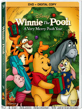 Disney Christmas Winnie The Pooh A Very Merry Pooh Year New DVD and Digital Copy