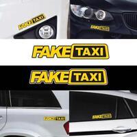 Fake Taxi  Auto Turbo JDM Vinyl AufkleberFenster Drift Funny Auto Aufkleber H3K4