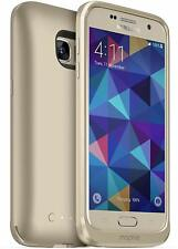 Mophie Samsung Galaxy S7 Juice Pack 60% Extra Battery Charging Case Cover Gold