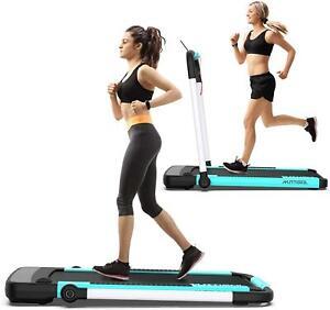 2 in 1 Foldable Under Desk Treadmill Running Walking Machine w/ Remote