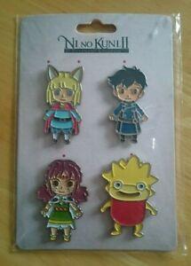 Ni No Kuni II - Magnet Pack (Set of 4) - Numskull -  New & Sealed