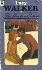 The Man From Outback Lucy Walker Paperback 1972