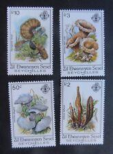 Zil Eloigne Sesel Seychelles 1985 Fungi Mushrooms SG95/8 MNH UM unmounted mint