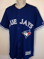 *NEW* $80 MAJESTIC MLB TORONTO BLUE JAYS COOLBASE JERSEY BASEBALL SIZE SMALL