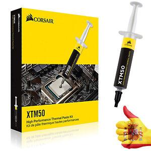 Pasta Termica Corsair 5gr para Procesador PC CPU Ordenador Xbox PS4 en Jeringa