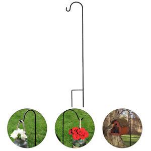 1 Pc Shepherd Hook Practical Stylish Lantern Hook Plant Stand Hanger for Garden