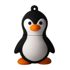 4GB Novelty Cute Black With White Baby Penguin USB 2.0 Flash Drive Data Mem H1H5