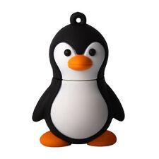 4GB Novelty Cute Black With White Baby Penguin USB 2.0 Flash Drive Data Mem H1H5