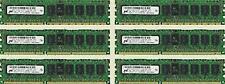24GB (6X4GB) MEMORY FOR DELL PRECISION T5500 T7500