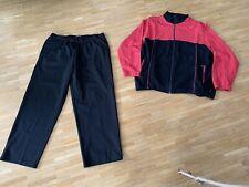Schneider Sportswear Freizeitanzug Trainingsanzug -  Gr 28 (kurz) - schwarz/rot