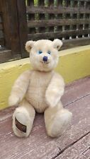 1992 GUND CANTERBURY BEARS TEDDY BEAR JOHN MAUDE BLACKBURN JOINTED NUMBERED