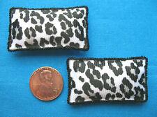 Cute Animal Print Miniature Dollhouse Pillows