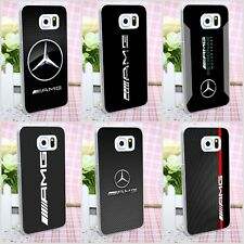 Mercedes Benz AMG Style Rigid Plastic Case Cover Shell For Samsung Galaxy S J A