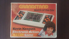 GRANDSTAND MATCH OF THE DAY KEVIN KEEGAN CONSOLE ELECTRONIC GAME BOXED 1979