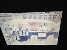 "Jean Dubuffet ""Autobus Gare Montparnasse"" French Art 35mm Glass Slide"